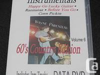 Learn Guitar Instrumentals - Vol.6 DATA DVD -Guitar
