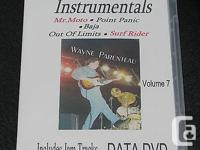 Learn Guitar Instrumentals - Vol.7 DATA DVD -Guitar