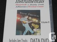 Learn Guitar Instrumentals - Vol.8 DATA DVD -Guitar