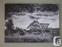 I have 2 20x14 canvas prints left over from a fine art