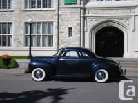 1940 dodge coupe , restored frame off to a rust free