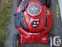 21 inch Craftsman self-propelled lawn mower EZ Walk -