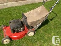 "Toro lawnmower 21"" blade Kawasaki engine Adjustable"