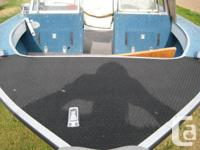 1994 Aluminum deep V open bow boat in excellent