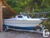 1990 21.5 ft Campion Angling Device, brand-new rebuilt