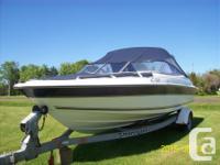 21.5 ft DORAL boat 5.7 liter mercruiser works awesome