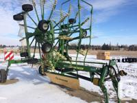 SW 800/26 2013 Krone SW 800/26 Rake 3PTH connection,