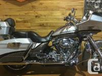 YOU NEED THIS BEAUTIFUL, LOADED CVO ROAD GLIDE IN YOUR