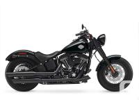 Softail Slim S with Screamin Eagle 110 motor and lots