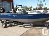 2016 Crestliner 1650 Discovery SCThe All New 1650