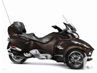2012 Can-Am Spyder RT Limited with custom colourThe