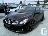 2012 Nissan Altima Coupe 3.5 SR 6sp – Black