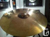 "21"" AA Sabian Raw Bell Dry Ride.  Great sound with no"
