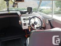 Boat is turn key everything works, runs and drives. 175