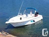 Excellent Condition Aquasport 215 DC for sale. Boat is