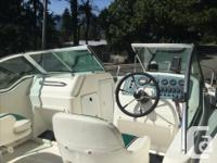 This boat is ideal for larger family on the lake or