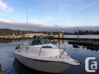 1998 SEASWIRL Striper Fishing Boat Outboard walk