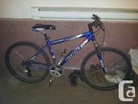 Adult 21 speed Giant mountain bike with Shimano