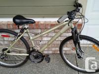 Delicately used bike with no concerns, virtually