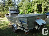 21' light weight aluminum jet boat with 175hp sporting