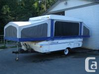 Starcraft tent trailer model 2101 rests 8 has 3 means
