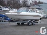 """21'4"""" DORAL boat with extended swim platform (23'10""""),"""