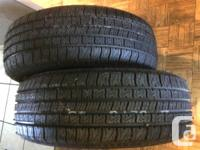 Canadian Tire Sells GoodYear 215/60r16 nordic winter