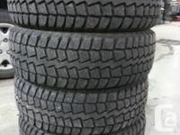 215/70/16 Winterquest winter tires x 4   used 2 seasons