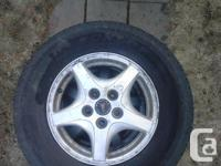 Selling a set of four Dunlop Signature all season tires