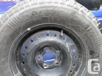 I have a set of 4 215 70r 15 snow tires mounted and