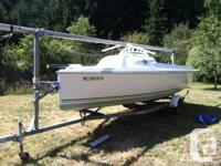 2004 version Hunter 216 day seafarer, commisioned