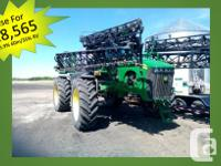 4930 2008 John Deere 4930, Self-Propelled Sprayers,