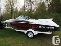 Very rare 2004 Polaris 21ft EX2100 sport boat, very few