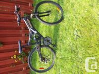 "Raleigh 21speed Canadian made Serengeti bike with 20"""