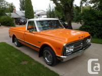 1972 Orange GMC Truck for Sale all numbers matching,