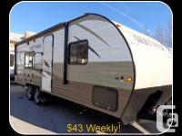 Description: 2015 Grey Wolf 23QB by Forest River