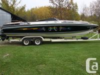 Scarab 1980, twin 454 procharged engines with TRS
