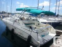 Boat in very terrific condition. Bow Thruster, AC, twin