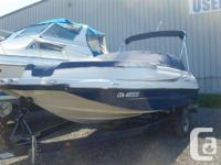 Great Family Deck Boat for water sports or fishing.