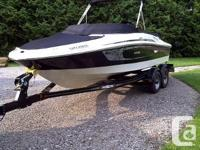 This 2009 Sea Ray 195 Sport is a 1 owner fresh water