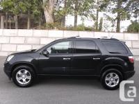 Description: 2012 GMC Acadia SLE All Wheel Drive.