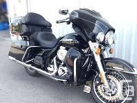 2013 Harley Davidson FLHTK This limited model comes
