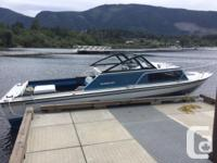 THE BOAT: is a 22 foot Starcraft aluminum and has just