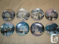 22 Christmas collector plates from Bradford for trade