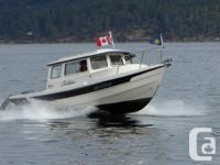 This boat is powered by a 90 HP 4 stroke. It is fully