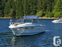 Overall length with swim grid is 24 ft. Has Mercruiser