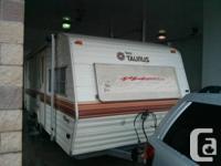 1984 Fleetwood Terry Taurus 22' DJ Lite. Tandem axle