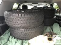 P285/45R22 Bridgestone Dueler Alenza set. Tires and