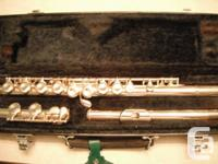 Top of the line, Yamaha 221 flute. Just back from the
