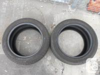 Two Bridgestone Potenza tires for sale, size 225/50/R17